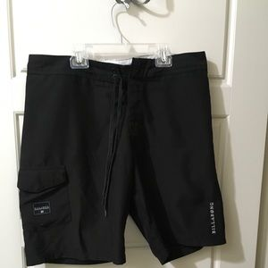 Billabong Mens Board Shorts Black Sz 34